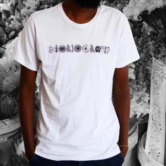 floriography_unisex shirt_white
